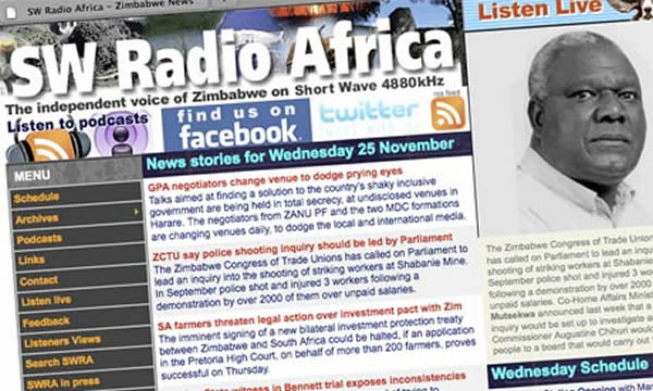 SW Radio Africa shortwave broadcasts to end
