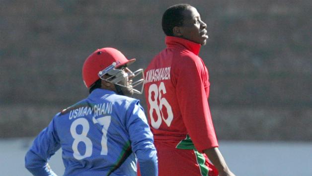 Afghanistan stun Zimbabwe
