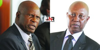 Finance Minister Patrick Chinamasa and Zimbabwe Revenue Authority chief Gershem Pasi