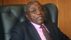 Zifa president Cuthbert Dube