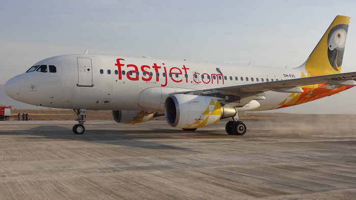Fastjet in maiden Dar es Salaam-Harare flight