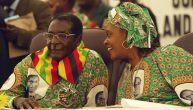 Mugabe and wife Grace