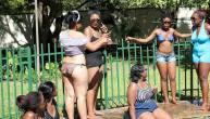Miss Curvy contestants in Kariba