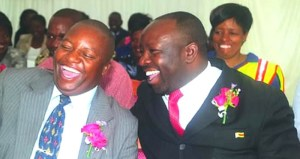 Bikita West legislator Dr Munyaradzi Kereke (right)