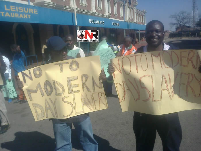 NRZ workers begin first of many planned protests