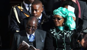 Grace defends her affair with Mugabe
