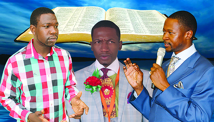 Walter Magaya, Uebert Angel and Emmanuel Makandiwa