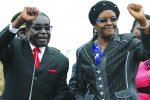 President Mugabe and wife Grace