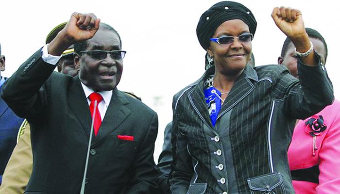 President Mugabe and wife Grace
