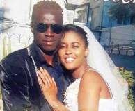 Tarumbwa and wife on their wedding day