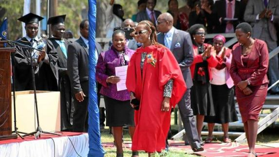 "Grace Mugabe's ""Genetically Modified Doctorate"""