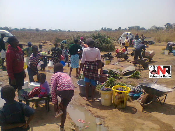 Mabvuku Water Situation (Nehanda Citizen Reporter)