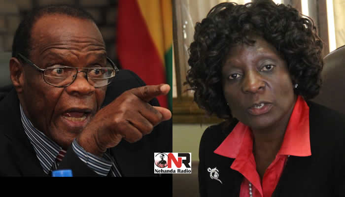 Election Riggers: Registra General Tobaiwa Mudede and Zimbabwe Electoral Commission (ZEC) Chairperson Rita Makarau