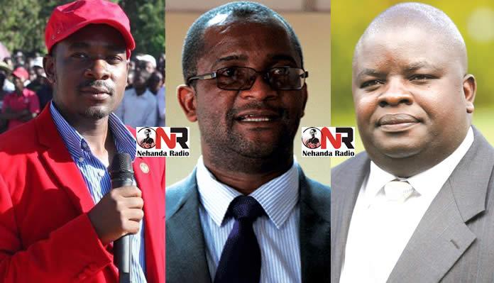 Epic Battle: Nelson Chamisa, Douglas Mwonzora and Tapiwa Mashakada