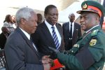 Defence Minister Sydney Sekeremayi, Vice President Emmerson Mnangagwa and General Constantine Chiwenga