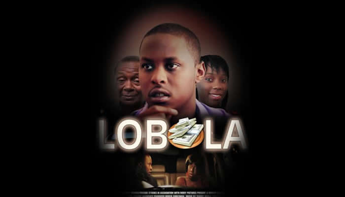 DVD cover of the Zimbabwean movie Lobola