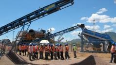 Diamond mining in Zimbabwe