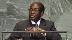 Mugabe at the UN