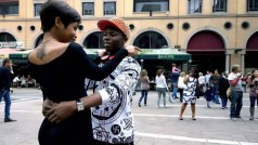 """Tyfah Guni in the video """"Out of my Life"""""""