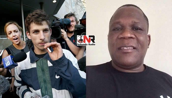 Abdel-Kader Russell-Boumzar was filmed appearing to racially abuse Josphat Mkhwananzi