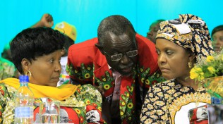 Oppah Muchinguri, Amos Midzi and Grace Mugabe
