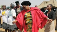 Joice Mujuru graduation party (Picture by The Standard)