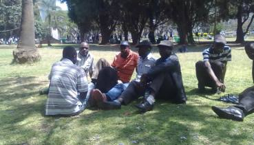 """Itai Dzamara has continued leading the """"Occupy Africa Unity Square"""" protest in the capital Harare"""