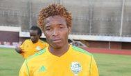 Joel Ngodzo during his time at FC Platinum