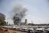 Smoke billows from the old and run down Harare Thermal Power Station (Picture by NewsDay)