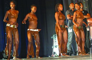 Female dancers on stage: (Pic by Fungai Foto)