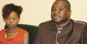 In October this year Killer Zivhu (right) also fund raised for Great Zimbabwe University student Mollen Ndinashe Makoni (left) to undergo an urgent kidney transplant in India.