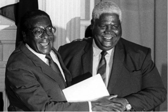 1987 Unity Agreement with Nkomo