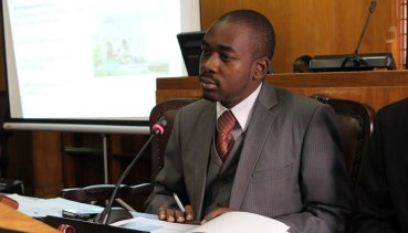 Former ICT Minister and Kuwadzana (MDC-T) MP Nelson Chamisa