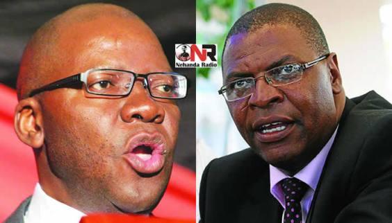 Tendai Biti and Welshman Ncube