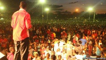 Walter Magaya is one of Zimbabwe's most popular preachers