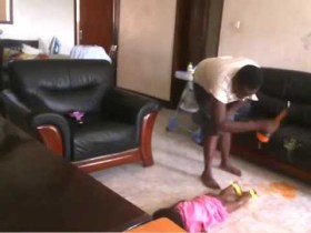 Baby tortured by maid in Uganda still alive