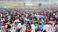 A mega crowd thronged PHD Ministries all night prayer in Harare yesterday