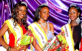 Miss Harare Junior beauty pageant