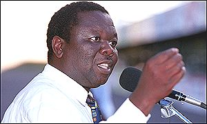 Fresh looking Morgan Tsvangirai when he appeared to have ideas.