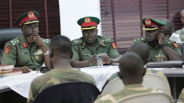 The soldiers appeared before a court martial in Abuja