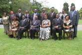 President Mugabe (90) and his new but old team.
