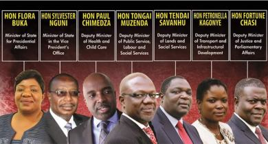 Mugabe fires 7 more ministers