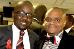 ZAA founder Conrad Mwanza and Chief Executive Brian Nyabunze