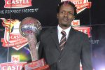 Reigning Castle Lager Premiership Soccer Star of the Year Dennis Dauda