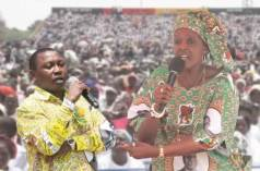 Ray Kaukonde and Grace Mugabe