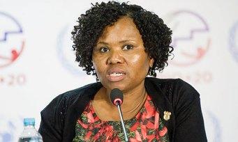 Small Business Minister Lindiwe Zulu