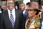 Vice President Emmerson Mnangagwa and wife Auxillia Mnangagwa