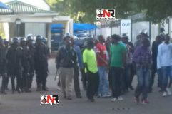 Riot police called in as striking Mbada Diamonds workers besiege HQ