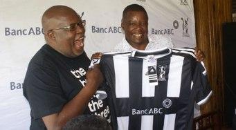 Highlanders CEO Ndumiso Gumede unveils Bongani Mafu as new Highlanders coach