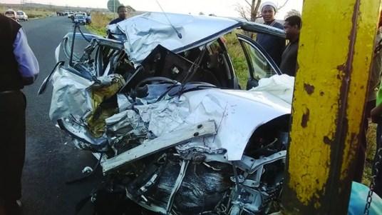 Botswana accident victims' bodies arrive